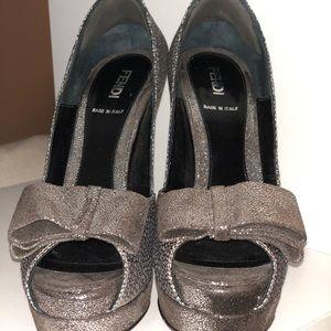 Fendi super fancy heels!